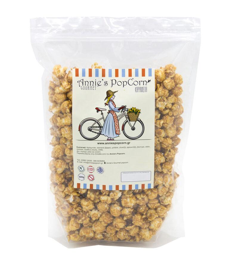 popcorn karamela