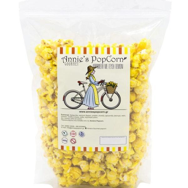 karamelomeno popcorn lemoni