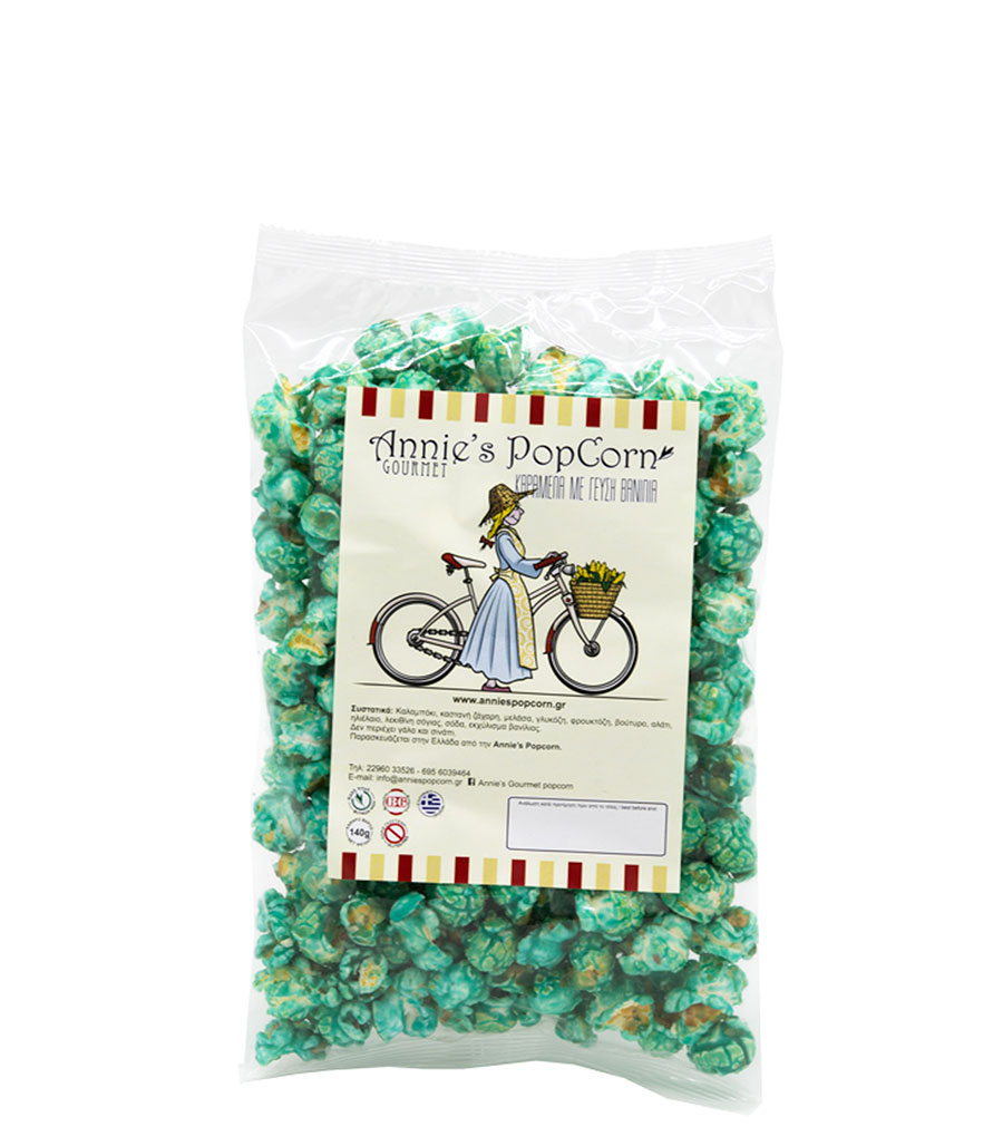 popcorn γεύση βανίλιας